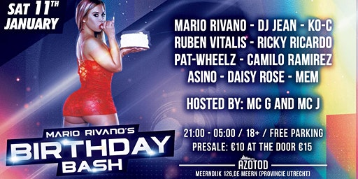 Mario Rivano's 29th Birthday Bash!