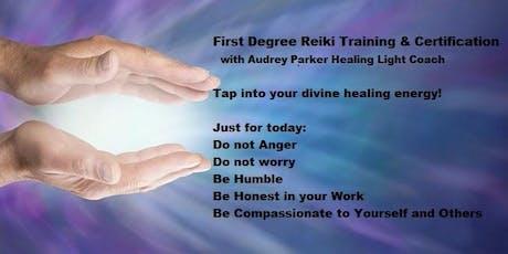 Reiki Level 1 Training Workshop tickets