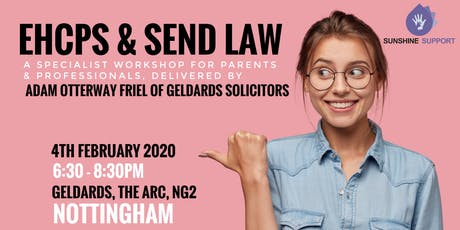 EHCP & SEND Law Workshop - Nottingham tickets