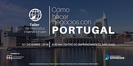 COMO HACER NEGOCIOS CON PORTUGAL tickets