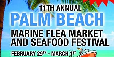 Palm Beach Marine Flea Market and Seafood Festival