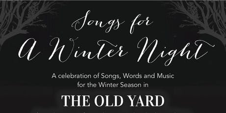 Songs for a Winter Night tickets