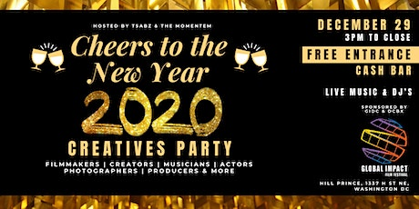 Cheers to the New Year: Creatives Party tickets