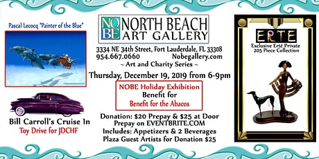 "NOBE ""Call to Artists"" Holiday Benefit for the BAHAMAS tickets"