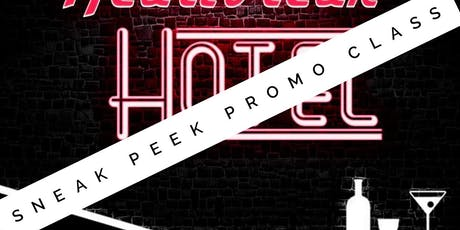 Heartbreak Hotel Sneak Peek Promo Class tickets