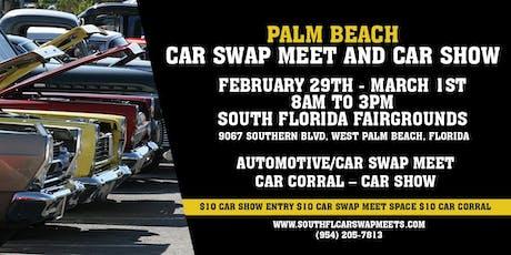 Palm Beach Car Swap Meet and Car Show tickets