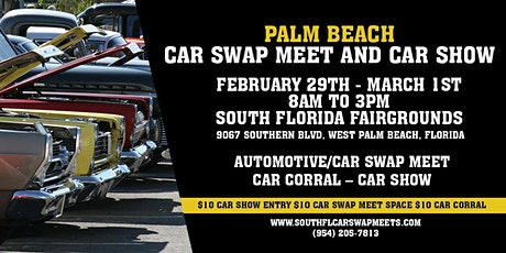 Palm Beach Car Swap Meet and Car Show tickets