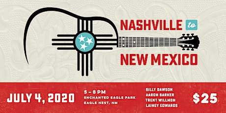 Nashville to New Mexico 2020 tickets