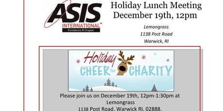 ASIS Providence Holiday Lunch Meeting tickets