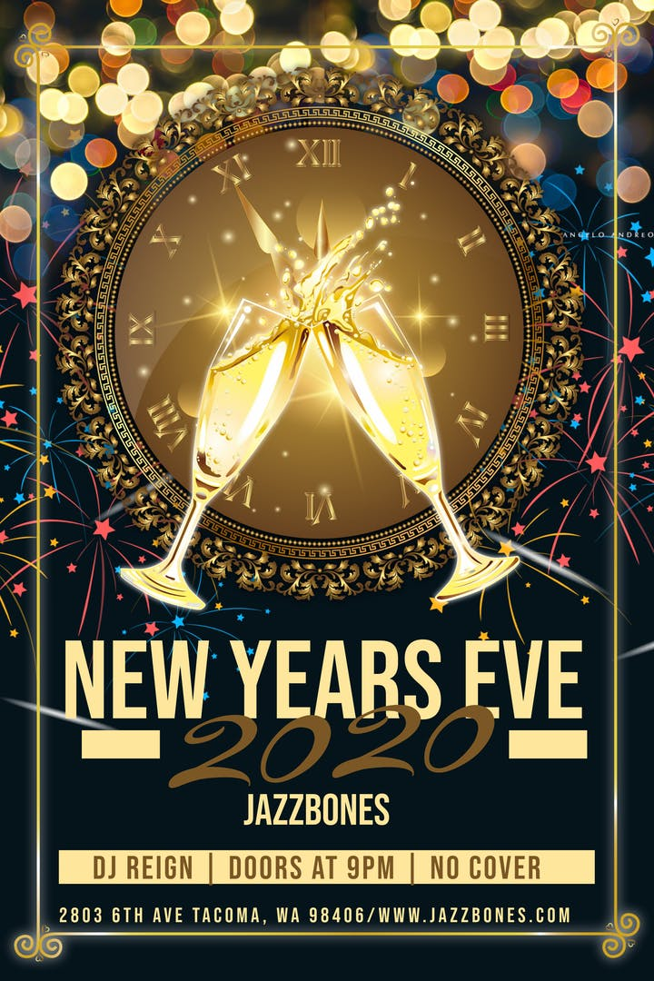 Tacoma Events 2020.New Years Eve 2020 Tickets Tue Dec 31 2019 At 10 00 Pm