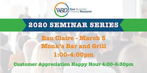 WBD 2020 Seminar Series - Eau Claire