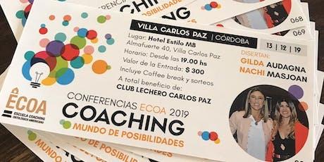 Conferencia ECOA Coaching Un Mundo de Posibilidades entradas