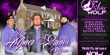 Tennessee Wraith Chasers/Gaines Tavern Walton, KY tickets