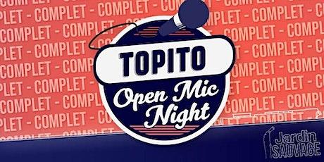 Topito Open Mic Night billets