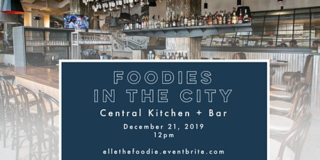 Foodies in the City: December tickets