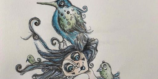Whimsical Wonders Workshop with Claire Delaney - Free [The Open Studios Project]