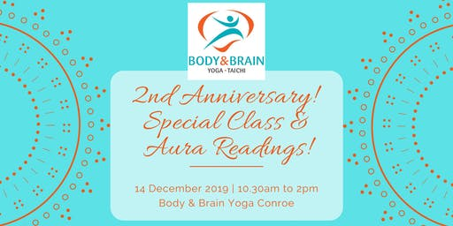 2nd Anniversary - Special Class & Aura Readings!