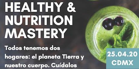 Healthy & Nutrition Mastery entradas