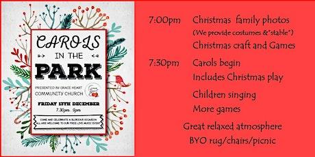 Carols in the Park at Highett /Family photos/games/craft tickets