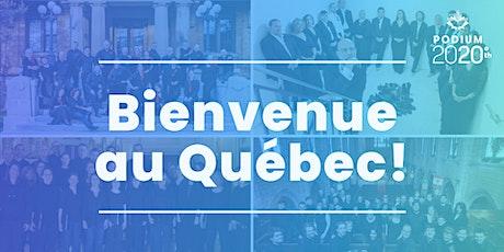 Bienvenue au Québec! billets