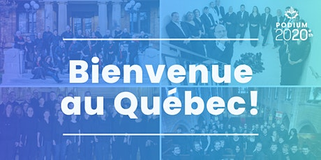 Bienvenue au Québec! tickets