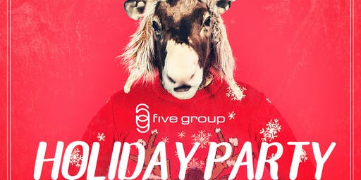 Five Group Holiday Party at Oxford Social Club!