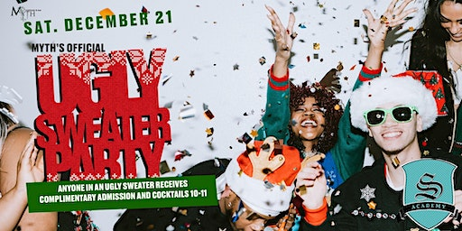 Myth's Official Ugly Sweater Party *Christmas Break Edition*