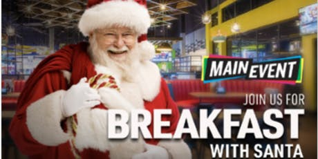 Breakfast with Santa at Main Event Entertainment tickets