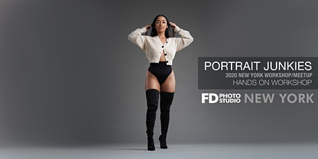 Portrait Junkies 2020  NYC Mini Workshop and Meetup tickets