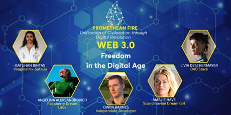 Promethean Fire-Web 3.0, Freedom in the Digital Age tickets