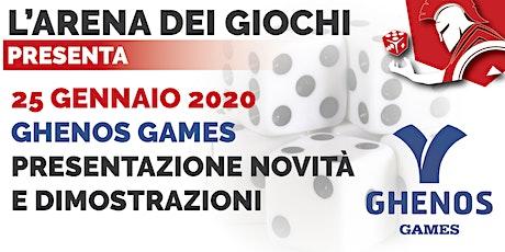 Ghenos Games - Presentazione Giochi biglietti