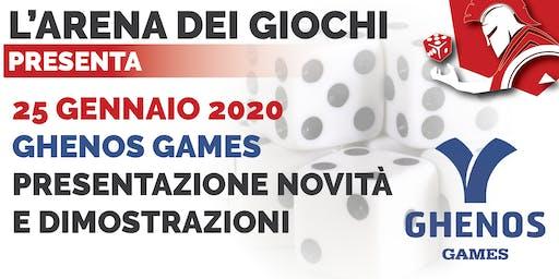 Ghenos Games - Presentazione Giochi