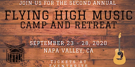 Second  Annual Flying High Music Camp and Retreat tickets