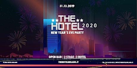 Capodanno Milano 2020 - THE HOTEL - OPENBAR | BJOY tickets
