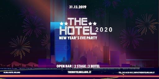 Capodanno Milano 2020 - THE HOTEL - OPENBAR   BJOY