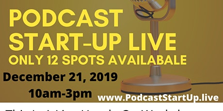 Podcast Sart-Up Live tickets