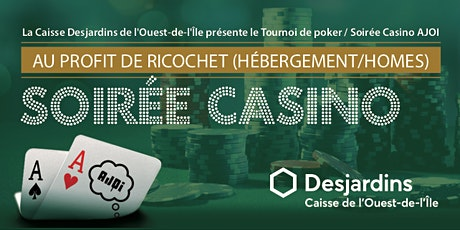 Tournoi de Poker / Soirée Casino AJOI 2020 billets