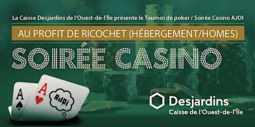 Tournoi de Poker / Soirée Casino AJOI 2020