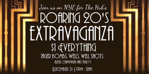 The Hub's NYE Great Gatsby Extravaganza