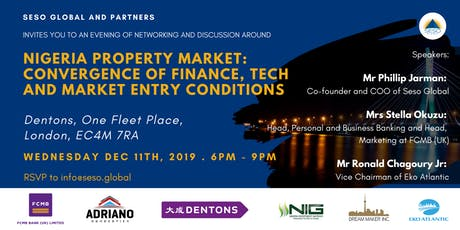 NIGERIAN PROPERTY MARKET: CONVERGENCE OF FINANCE, TECH AND MARKET ENTRY CONDITIONS tickets