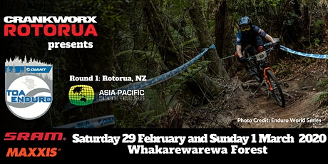 Crankworx Rotorua Giant Toa Enduro presented by Camelbak tickets