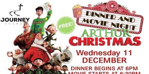 Free Dinner & Movie Night