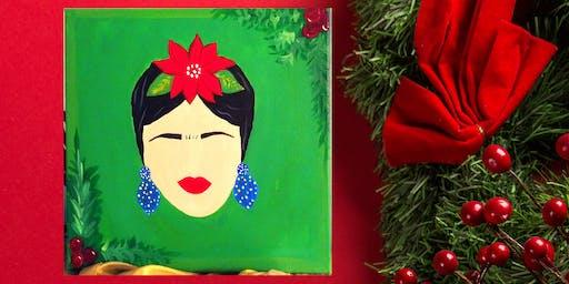 'Holiday Frida' paint and sip at S&P Restaurant and Bar