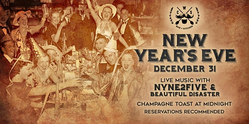 C.W.S. Bar + Kitchen Presents: New Year's Eve Party