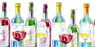 Wine and Watercolor