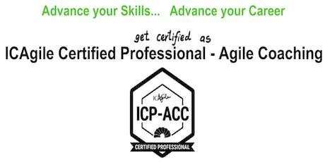 ICAgile Certified Professional - Agile Coaching (ICP ACC) Workshop - Omaha NE tickets