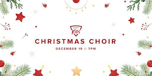 Brave Kids Christmas Choir