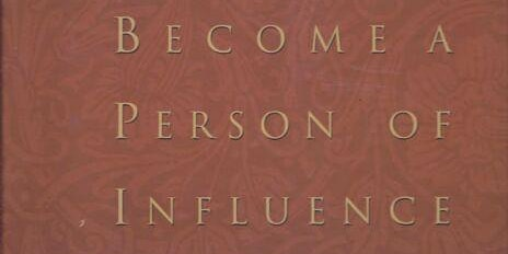 Leadership Training Lunch & Learn based on the book Becoming a Personal of Influence by John Maxwell 12/13/19 1145 am to 1 pm