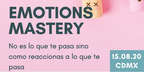 Emotions Mastery boletos