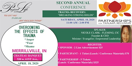 2ND ANNUAL TRAUMA RECOVERY CONFERENCE tickets